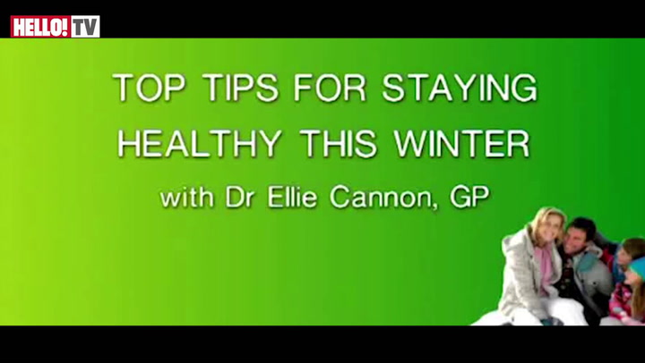 Dr Ellie Cannon gives her top tips on how to stay healthy in the cold weather