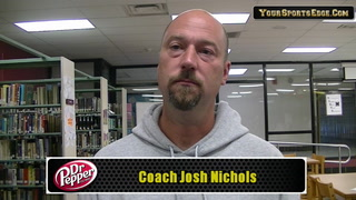 Nichols Expects First Round Battle With UHA