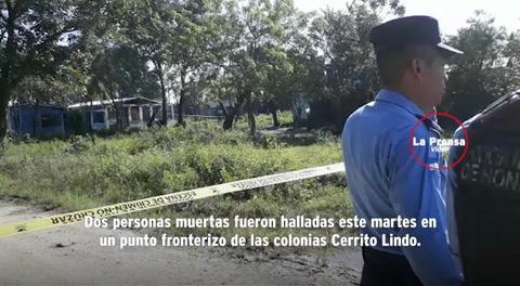 Decapitan y envuelven en sábanas a dos personas en San Pedro Sula
