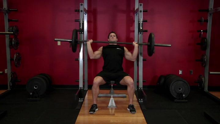 Barbell Shoulder Press - Shoulder Exercise - Bodybuilding.com