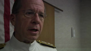Admiral Mike Mullen delivers spring commencement address
