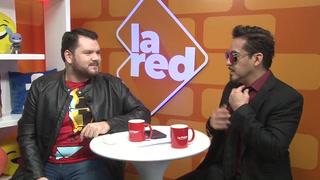Eduardo Mosqueda: El doble de Tony Stark estuvo hoy en La Red