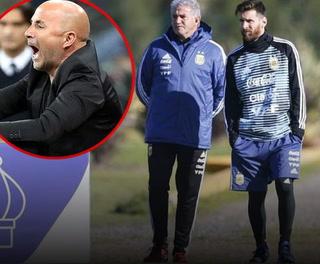 Motín en Argentina, jugadores habría pedido la salida de Jorge Sampaoli