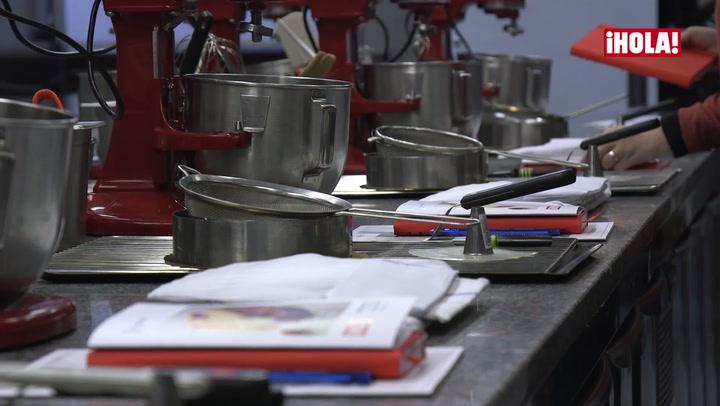 Los ganadores del concurso de repostería navideña reciben una masterclass en la escuela de cocina Le Cordon Bleu