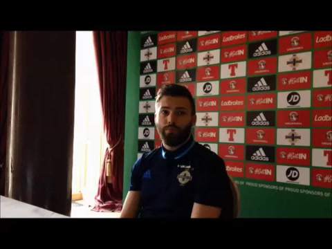 Video: Stuart Dallas speaks ahead of Northern Ireland v Norway