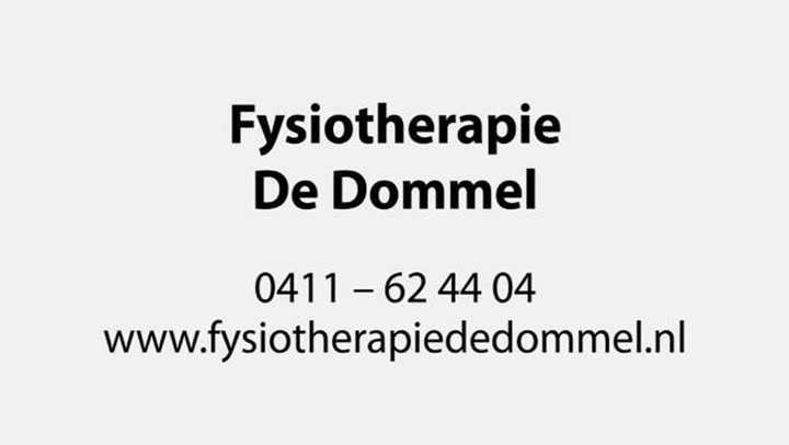 Fysiotherapie De Dommel Boxtel - Bedrijfsvideo