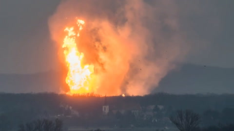 Austria: un muerto y 18 heridos en explosión de terminal de gas