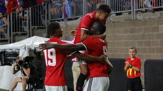 Manchester United vence 2-0 al Manchester City en partido amistoso