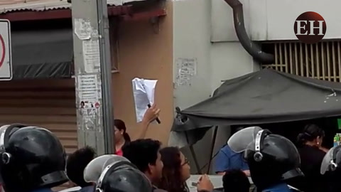 Medidas sustitutivas contra 20 estudiantes detenidos en la UNAH por toma de edificio