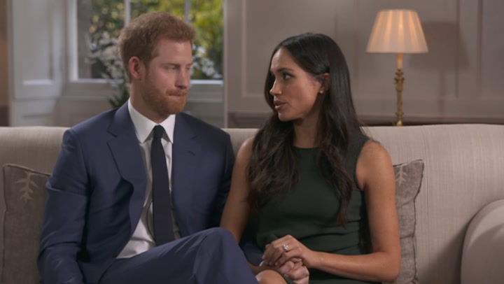 Prince Harry And Meghan talk about meeting The Queen
