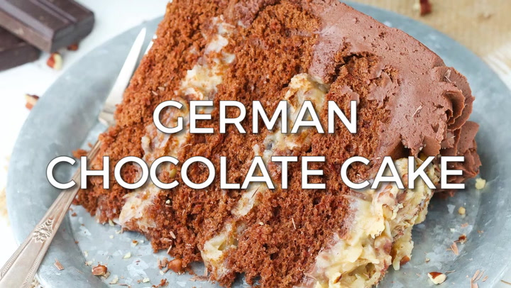 German Chocolate Cake - Life Love and Sugar