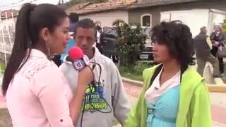 Presentadora hondureña recibe a taques en redes sociales tras entrevistar a dos indigentes