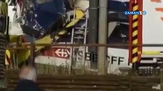 Almanya'da tren kazası: Çok sayıda ölü ve yaralı var