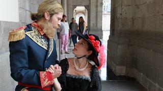 'Sombras' de Carlota y Maximiliano recorren Castillo de Chapultepec
