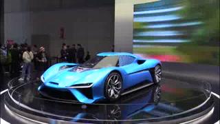 Autos eléctricos e híbridos, reyes del Salón de China