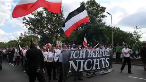 Unos 500 neonazis honran en Berlín a Hess en el 30 aniversario de su muerte