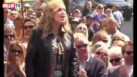 Melissa Etheridge is honoured with a star on The Hollywood Walk of Fame