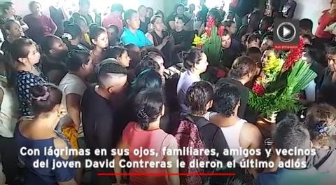 Dolor y consternación en entierro de joven ahogado en el Chamelecón