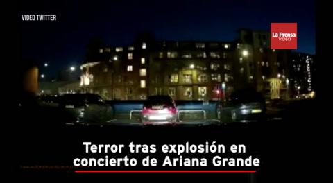 Terror tras explosión en concierto de Ariana Grande