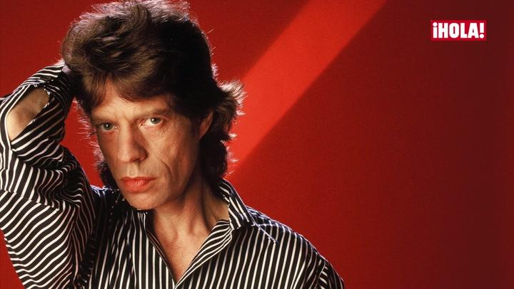 El cantante Mick Jagger, 73 años y un hijo en camino