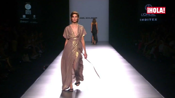 Fashion Week Madrid primavera-verano 2017: Ángel Schlesser