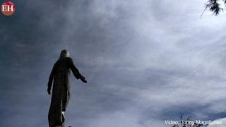 La feligresía celebró el 20 aniversario del Cristo de El Picacho