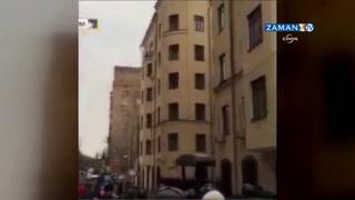Moskova'da Türk Büyükelçiliği'ne taşlı saldırı