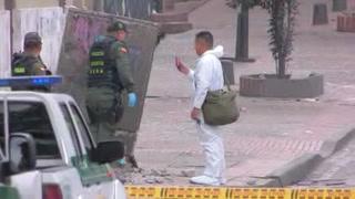 Atentado en Bogotá cobra la vida de un policía