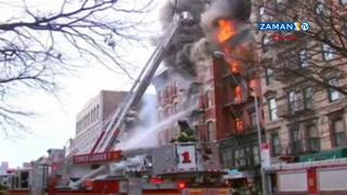 New York'ta doğalgaz patlaması