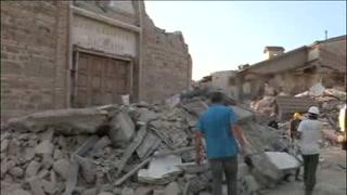 Pueblos colindantes a Amatrice, también entre escombros