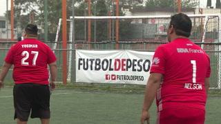 Fútbol de peso: anotar goles y perder kilos en México