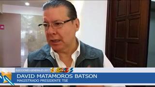David Matamoros asegura que está garantizada la observación electoral