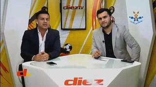Debate DIEZ TV: A Cristian Cálix todavía le hace falta recorrido