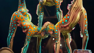 Behind the Curtain at Kurios with the Contornists