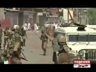 مقبوضہ کشمیر میں عید کے روز بھی بھارتی فوج کے مظالم