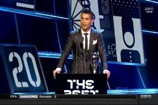 ¡Cristiano Ronaldo se lleva otra vez el premio The Best!