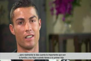 Cristiano Ronaldo y sus confesiones en su vida de padre