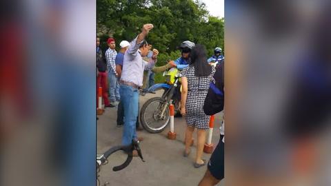 Queja de hondureña por el tráfico en salida al sur se hace viral