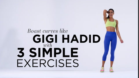 Boast curves like Gigi Hadid with 3 simple exercises