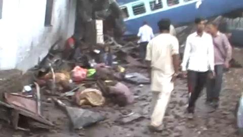 India 23 muertos y decenas de heridos en accidente de tren