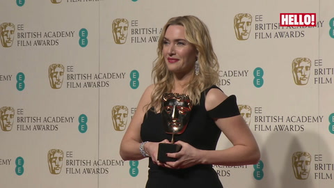 Kate Winslet: \'I am more excited about this win than I was 20 years ago\'