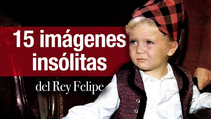 Quince imágenes insólitas de Felipe VI que ya casi nadie recuerda