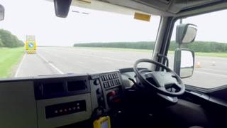 Circula en EU el primer camión inteligente