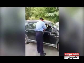 ڈپلومیٹک انکلیو میں پولیس سے بدتمیزی کرنے والی خاتون کو جیل بھجوادیا گیا
