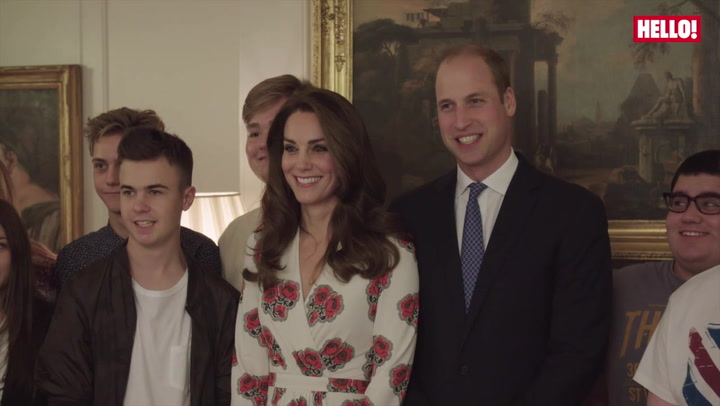 Duke and Duchess of Cambridge honour Radio 1\'s Teen Heroes.mp4