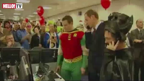 Prince William brokers £14bn deal with Batman and Robin