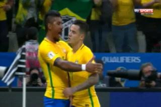 Coutinho marca un golazo para Brasil en juego ante Paraguay