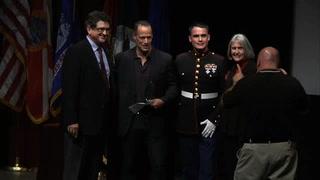 Sebastian Junger wins Florida State's Student Veteran Torchlight Award