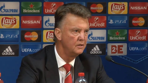Louis van Gaal praises Rooney after Champions League hat-trick