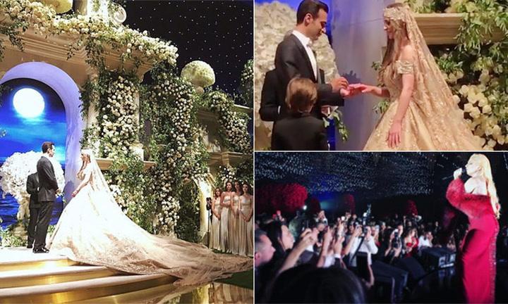 En el teatro de Los Oscar y con Lady Gaga… ¡La boda de los 9 millones de euros!